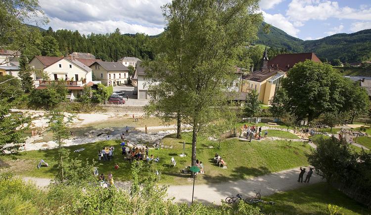 Wildbach-Erlebnisweg - Schmidbergerwehr - Weyer