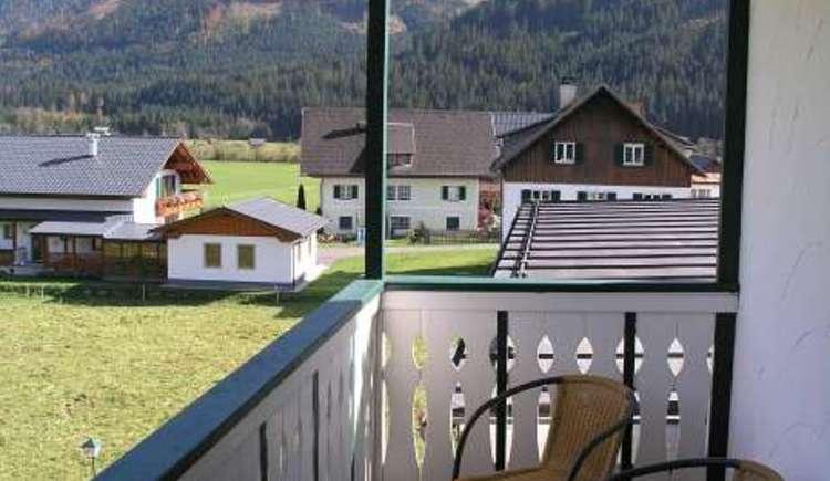 Pension Edelweiss, Gosau, Balkon