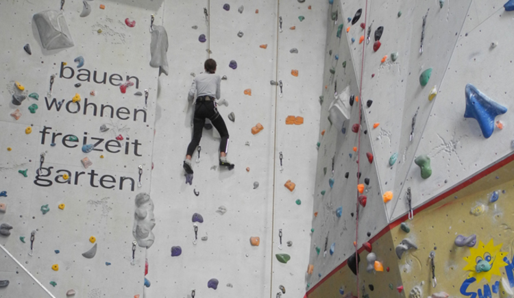 ÖAV Kletterhalle Bad Ischl (© ÖAV Kletterhalle Bad Ischl)