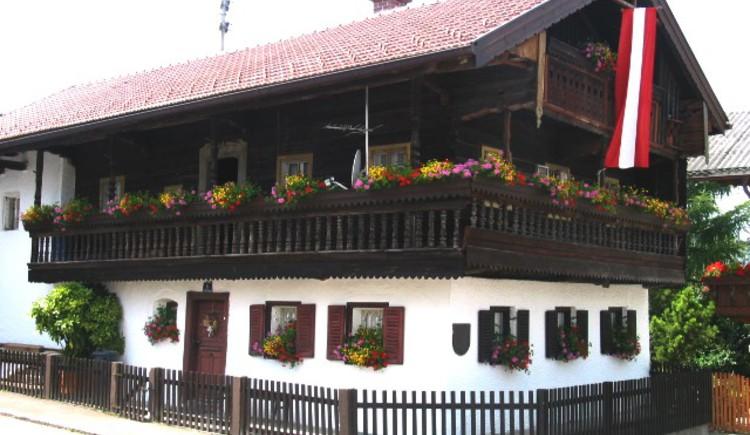 Krämerhaus Geretsberg. (© Gemeinde Geretsberg)