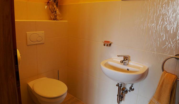 Toilette, Waschbecken