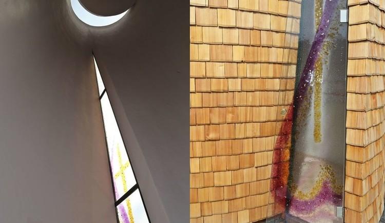Glaskunst Kapelle Misericordia