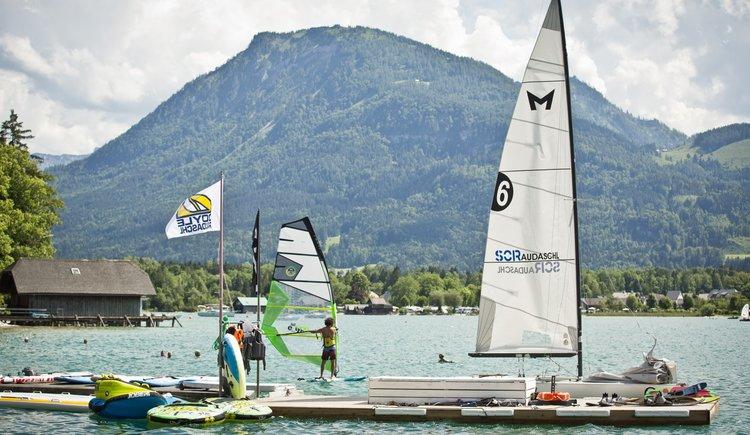 Sportcamp Raudaschl Steganlage. (© Sportcamp Raudaschl Mirja Geh)