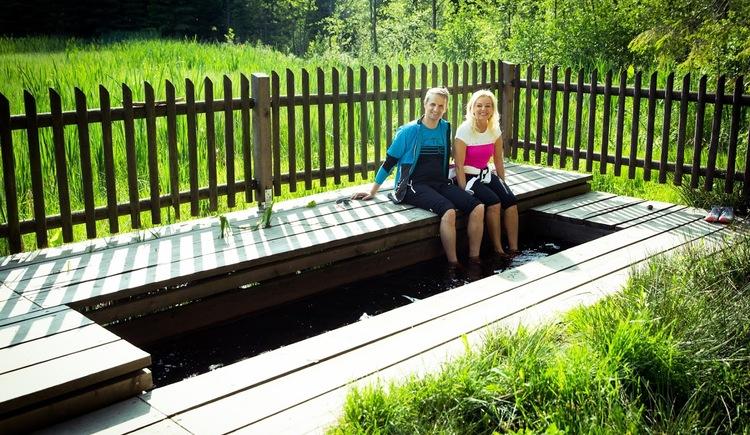Moorwassertretbecken (© Vortuna Gesundheitsresort Bad Leonfelden)