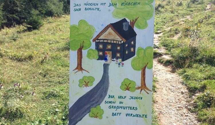 Märchenweg Rotkäppchen. (© WTG)