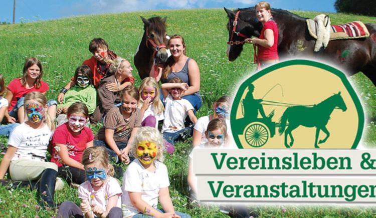 Vereinsleben und Veranstaltungen in der Reit-Erlebnis-Akademie Mühlviertler Kernland (© Reit-Erlebnis-Akademie Mühlviertler Kernland)