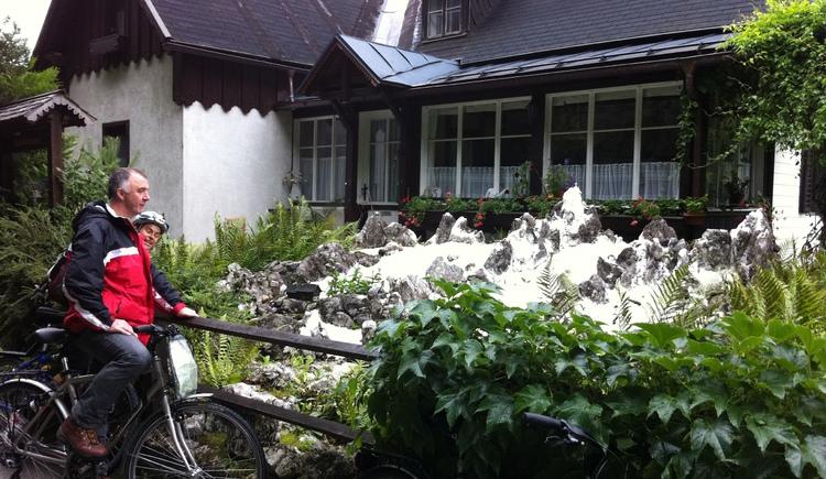 Radtour mit Christina Keltenich (© Christina Keltenich)