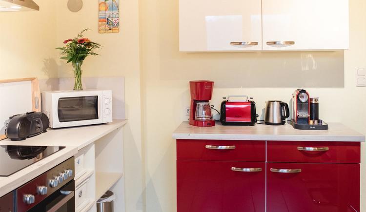 Küche Mountain View I (© Ferienhaus Mountain View)