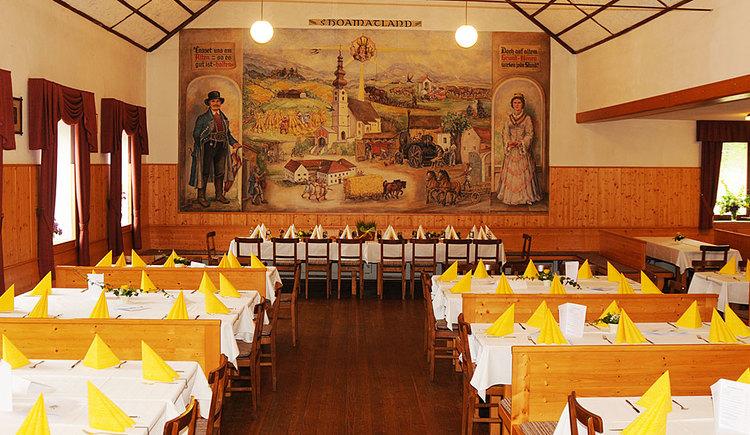 Saal im Gasthof zum Mitterhofer in Waldzell