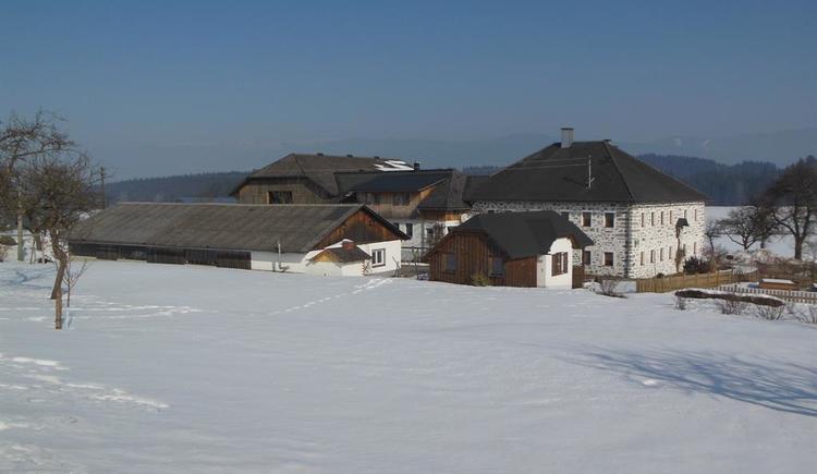 Bauernhof mit Blick auf den Böhmerwald (© Privat)