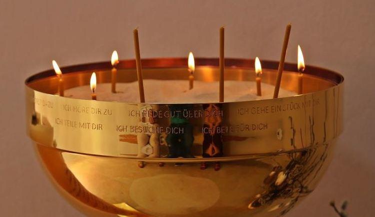 Kerzenschale Kapelle Misericordia