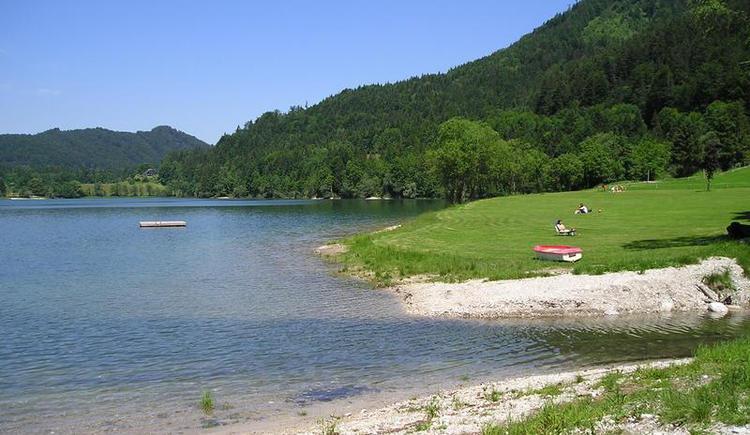 Liegewiese - Badeplatz Hirschpoint