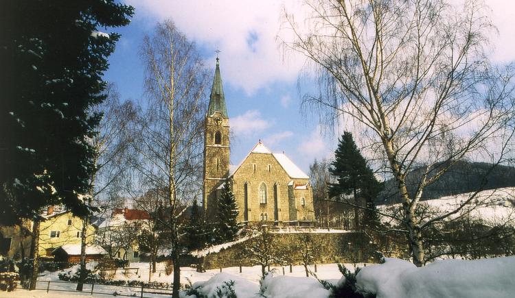 Pfarrkirche St. Oswald (© Tourismuskern St. Oswald)