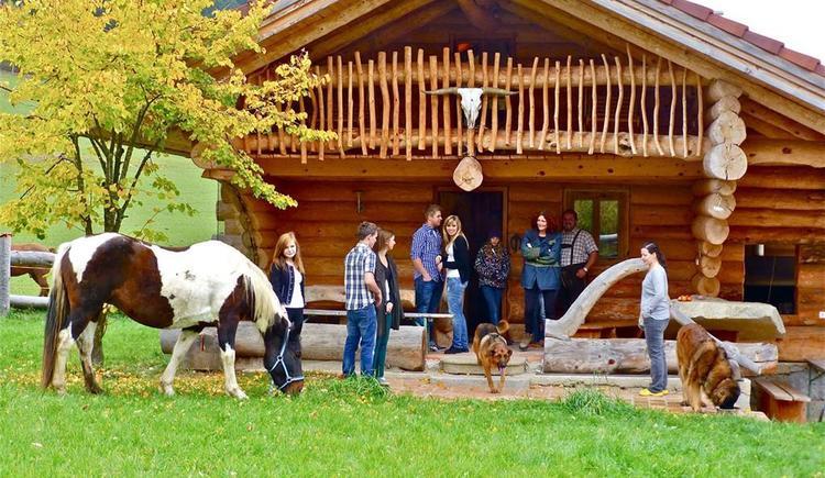 Ferienhaus mit Sauna (© Ferienparadies Hiaslbauer)