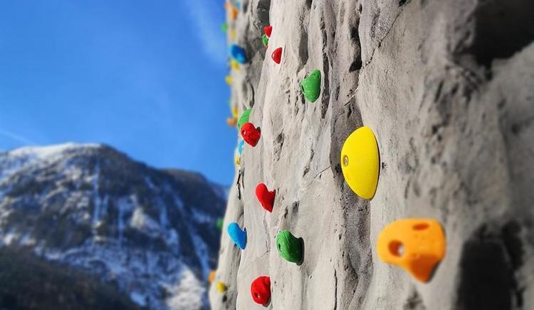 Kletterwand (© Hotel Freunde der Natur)