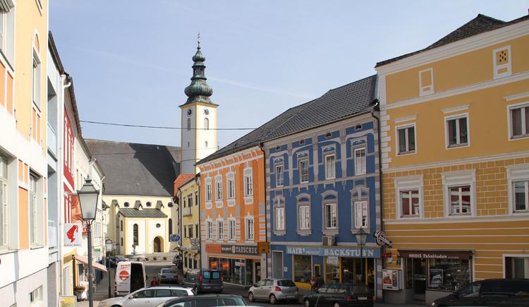 Ansicht Kirchenplatz (© Bartl Friedrich)