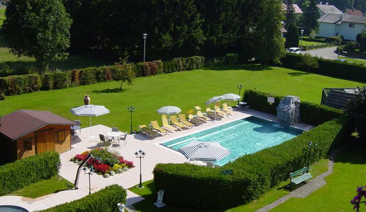 Schwimmbad Hotel Weismann. (© Hotel Weismann)