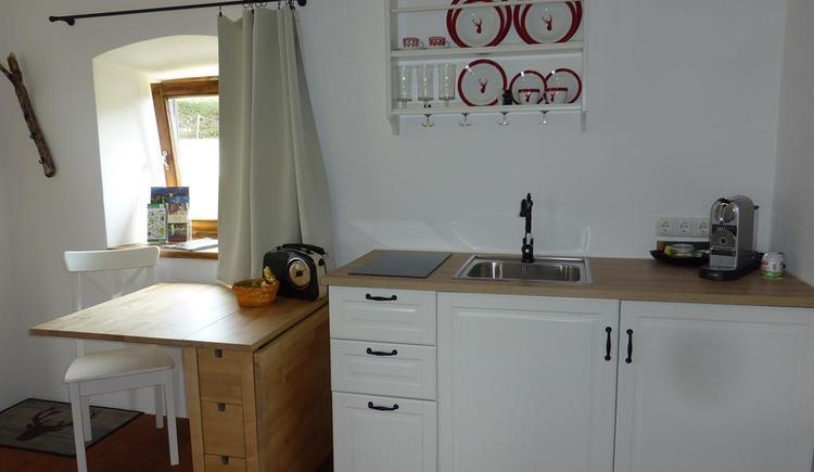 Küchenzeile mit Essplatz (© Leiss)