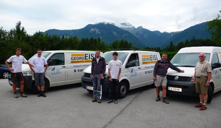 Elektrotechnik Georg Eisl GmbH mit seinem Team (© Georg Eisl)