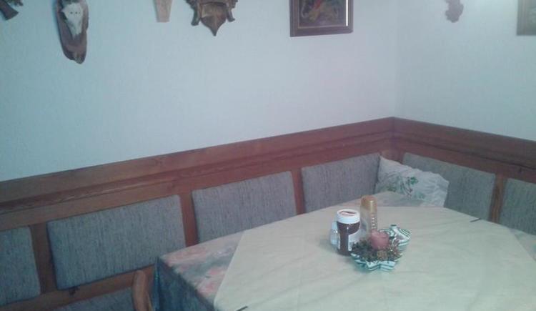 Sitzecke im Frühstücksraum (© sieberer)
