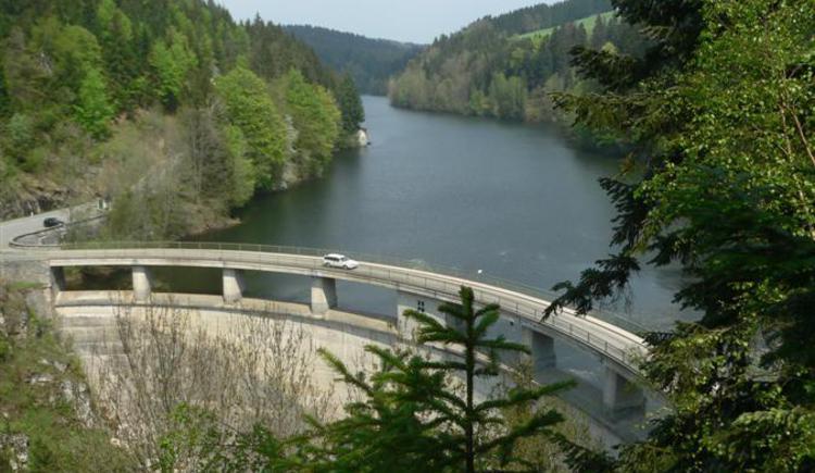 Staumauer beim Ranna-Stausee. (© TV Neustift)