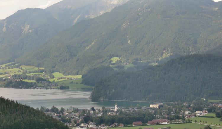 Laimeralm - Blick über den Wolfgangsee