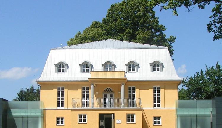 Die Villa sinnenreich in Rohrbach-Berg ist Ausgangspunkt dieses aufregenden Wanderweges. (© Villa sinnenreich)