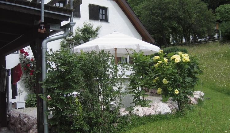 Terrasse im Sommer (© Ilsemann)