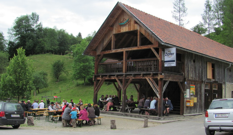 Brunnbachstadl. (© TV Nationalpark Region Ennstal)