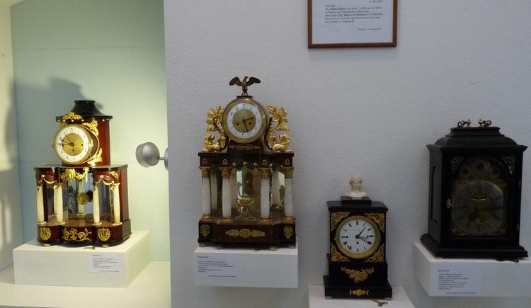 Uhrmacherhandwerksmuseum und Heimatstube. (© Verbund Oö. Museen)