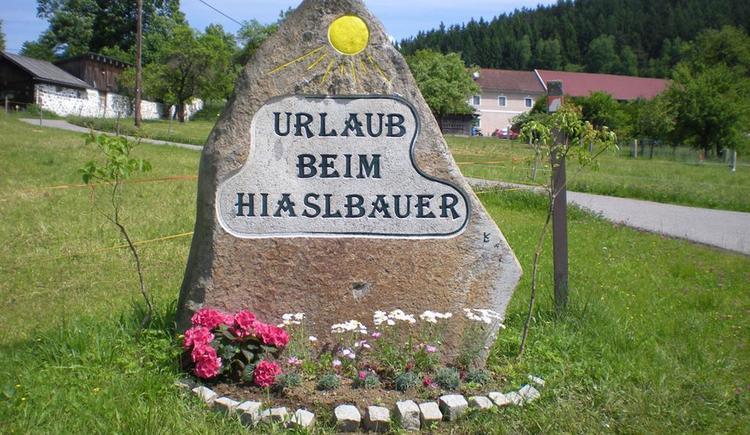 Willkommen beim Hiaslbauer (© Ferienparadies Hiaslbauer)