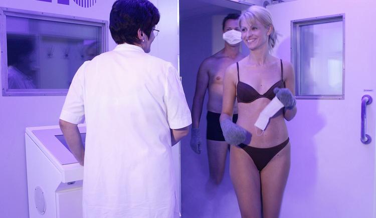 Hotel Lebensquell Bad Zell: Ganzkörperkältekammer
