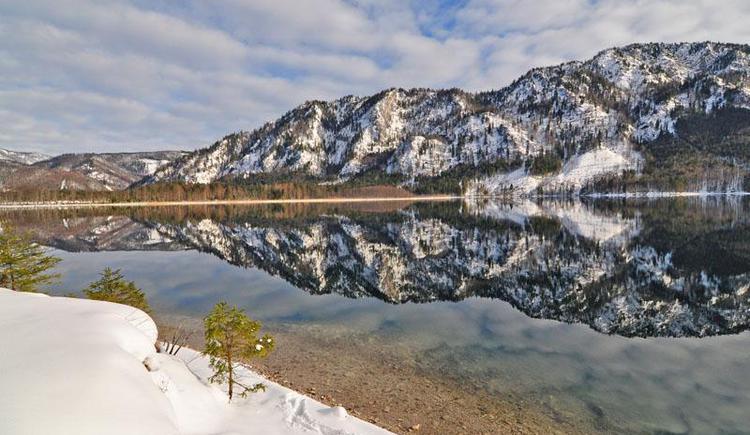 Offensee im Winter (© Tourismusbüro Ebensee, Spengler)