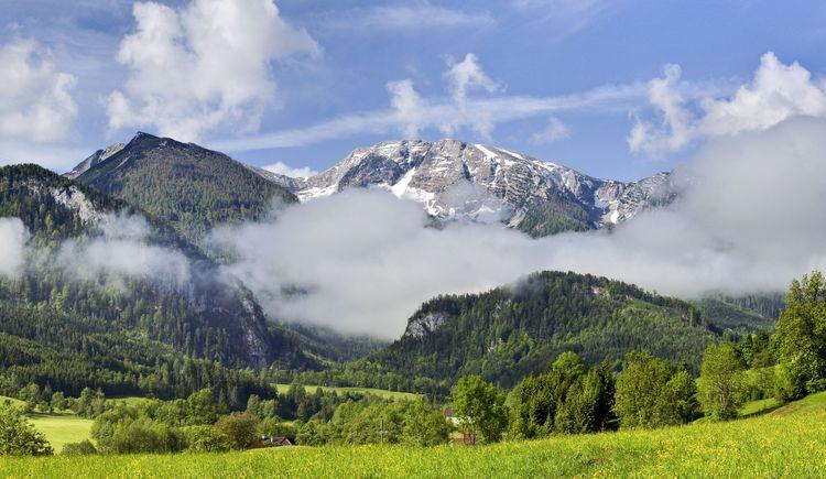 Warscheneckblick vom Schweizersberg (© TVB Pyhrn-Priel/Sulzbacher)