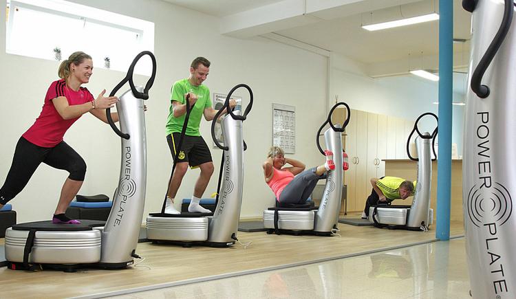 Power Plate Training im Fitness-Studio SPORTIVA