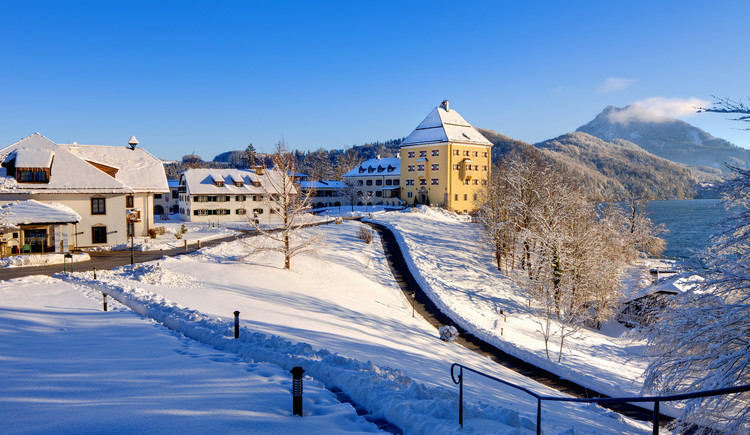 Aussenansicht Winter Schloss Fuschl Resort & SPA