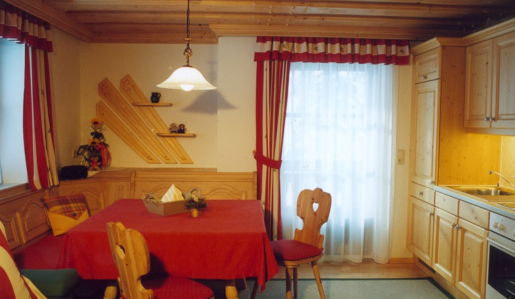 Second kitchen on the upper floor