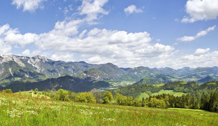 Panorama Sengsenbegirge bis Windischgarsten (© TVB Pyhrn-Priel/Sulzbacher)