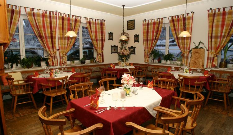 Restaurant - Gaststube. (© Christine Wolfsgruber)
