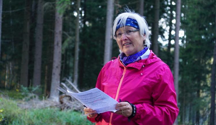 Pilgerbegleiterin Ingrid Frühauf