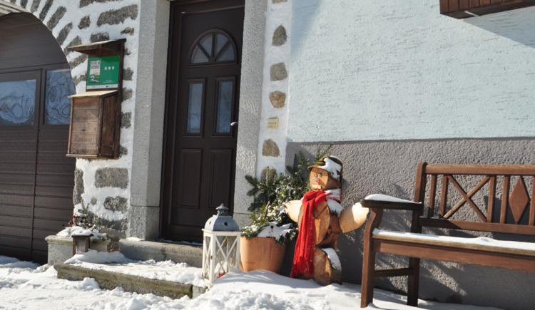 Winter Bauernhof Mittereibenberger