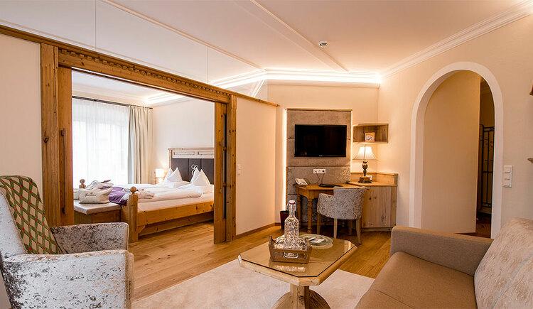 Landhaussuite Hotel Eichingerbauer**** Superior (© Sabine Sperr)
