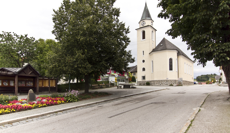 Ortsplatz Neustift (© TV Neustift)
