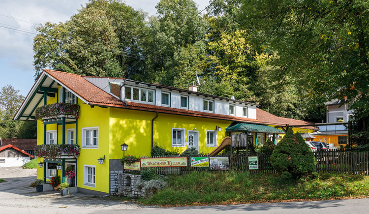 Gasthof Walchner Keller in Voecklamarkt. (© Familie Egger)