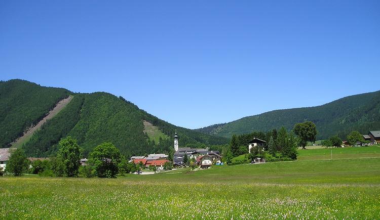 Sicht vom Kugelberg in Richtung Faistenau (© Tourismusverband Faistenau)
