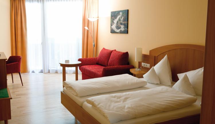 Zimmer im Kurzentrum Bad Goisern. (© Kurzentrum Bad Goisern)