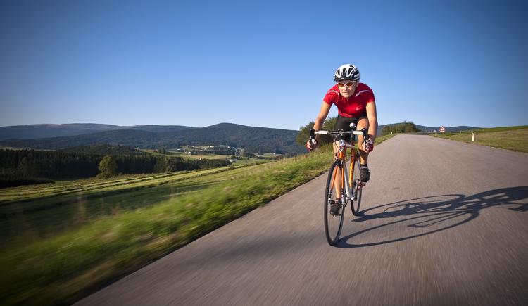 Rennradfahren in Oberoesterreich (© OÖ. Tourismus/Erber)