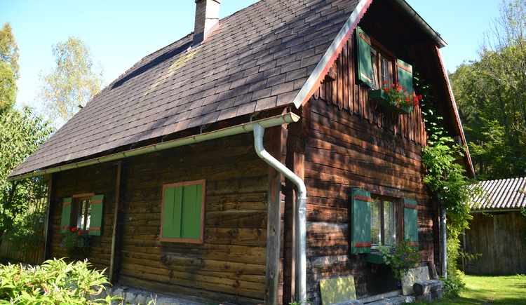 Blockhütte Kautsch. (© Franziska Kautsch)