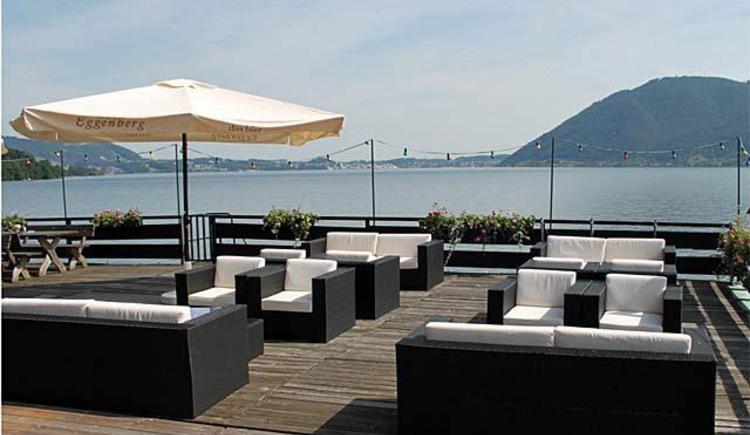 Club Buffet Segelclub Traunkirchen_Terrasse2