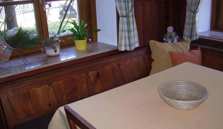 Essecke in der Ferienwohnung (© Teich)